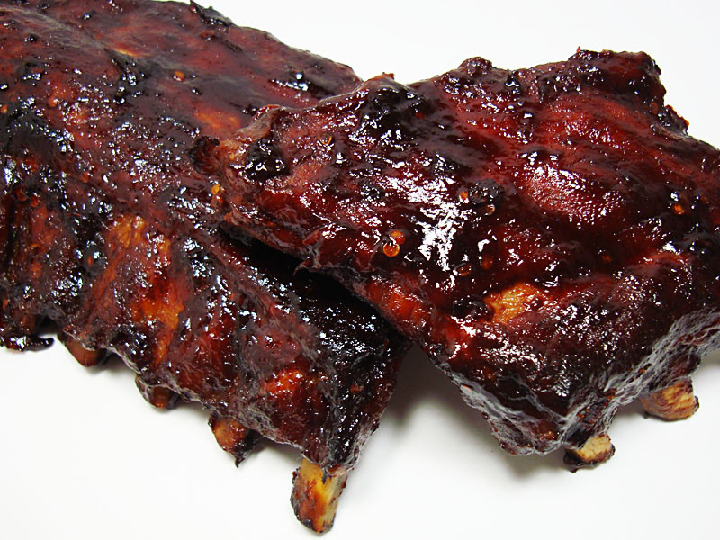 How To Cook Pork Ribs In The Oven Fast  quick baked ribs