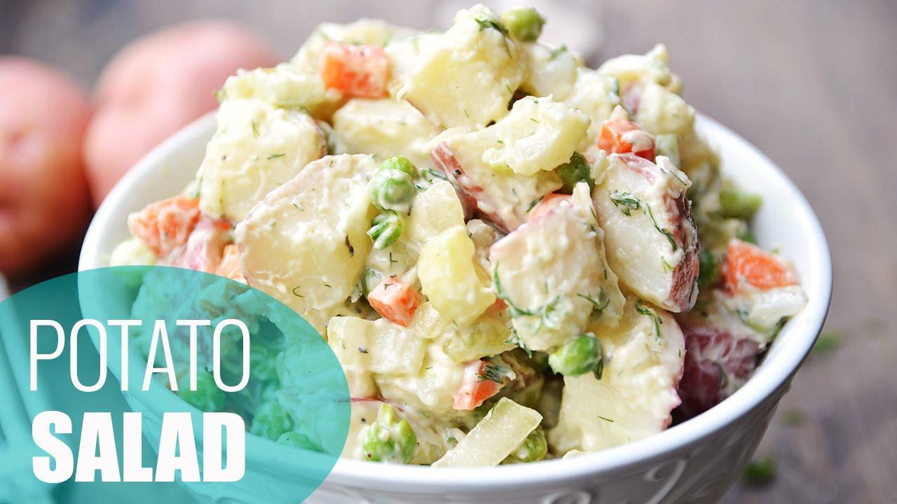 How To Cook Potatoes For Potato Salad  How to Make Potato Salad