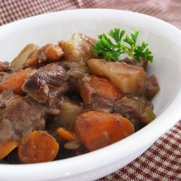 How To Cook Stew Meat  Slow cooker beef stew recipe All recipes UK