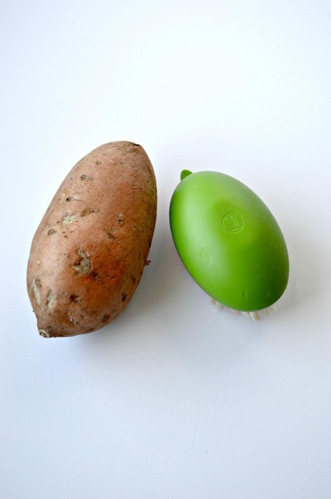 How To Cook Sweet Potato In Microwave  How to Make a Baked Sweet Potato in the Microwave Clean