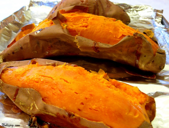 How To Cook Sweet Potato In Microwave  how long to cook a sweet potato in the oven