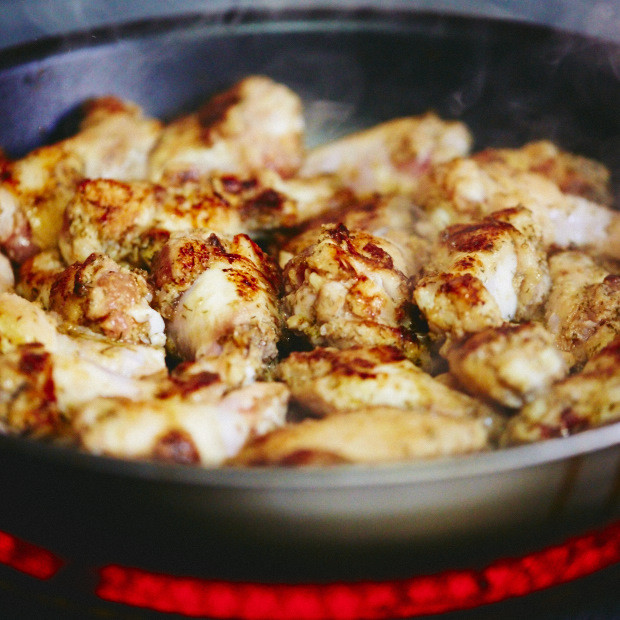 How To Fry Chicken Tenders  How to Fry Chicken Wings Extra Tender i FOOD Blogger