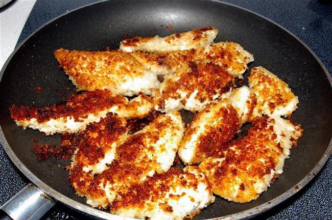 How To Fry Chicken Tenders  how to pan fry frozen chicken tenders