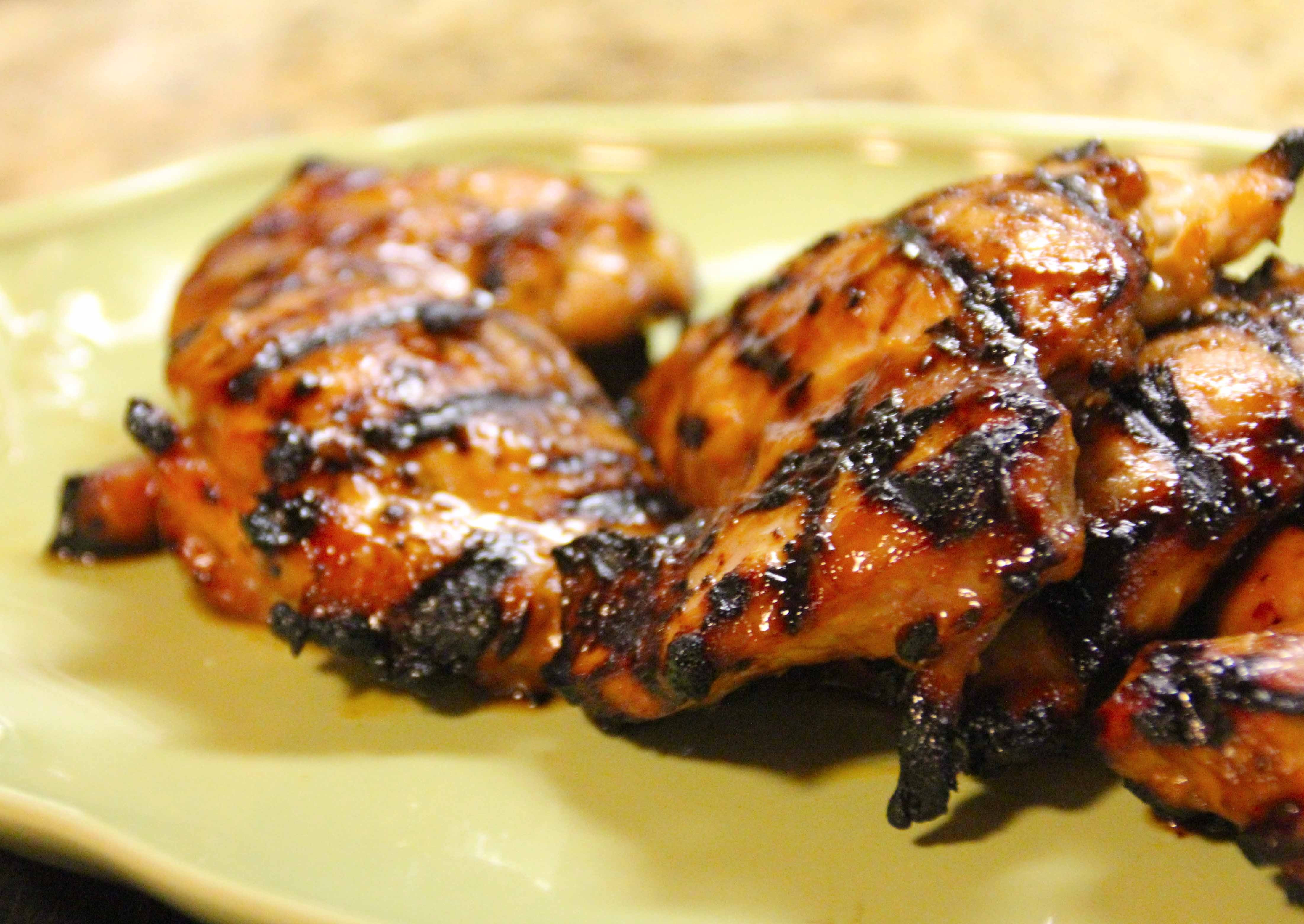 How To Grill Chicken Thighs  Citrus Sriracha Grilled Chicken Thighs
