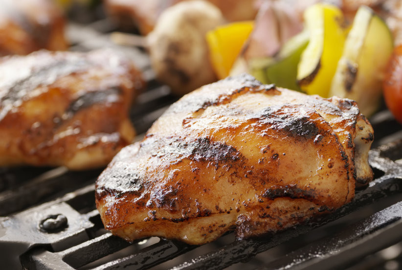 How To Grill Chicken Thighs  How to Grill Chicken Thighs