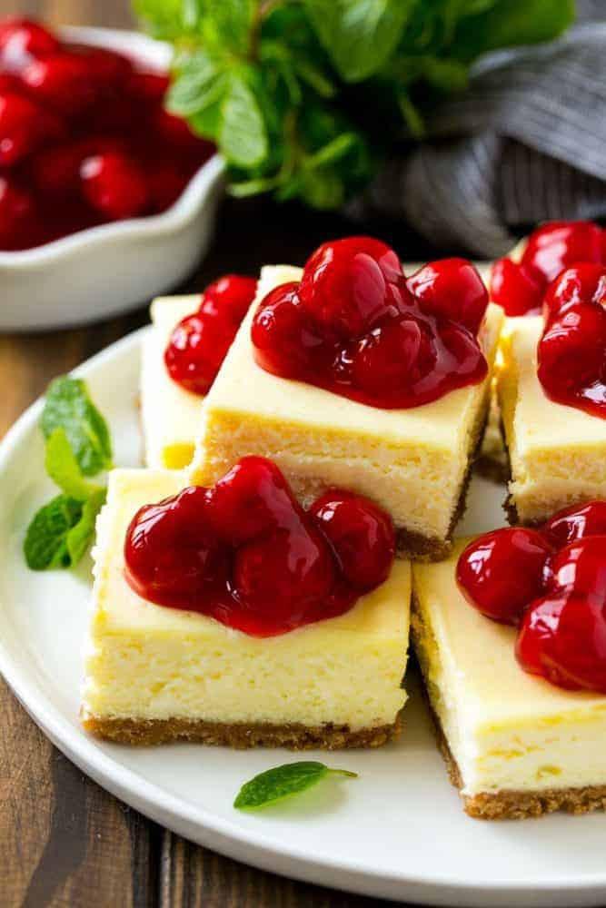 How To Make Cheese Cake  Cherry Cheesecake Bars
