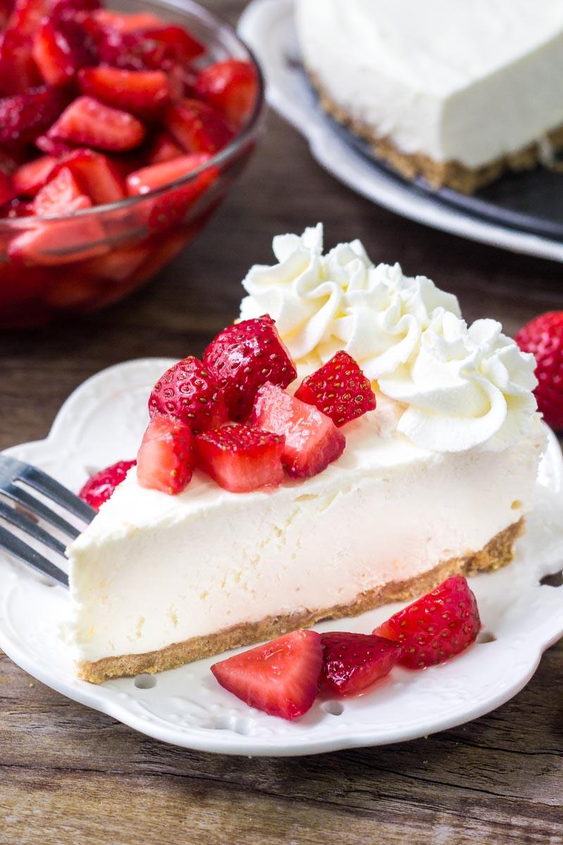 How To Make Cheese Cake  EASY No Bake Cheesecake Recipe