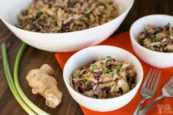 How To Make Chicken Salad With Canned Chicken  Easy Thai Chicken Salad with Canned Chicken