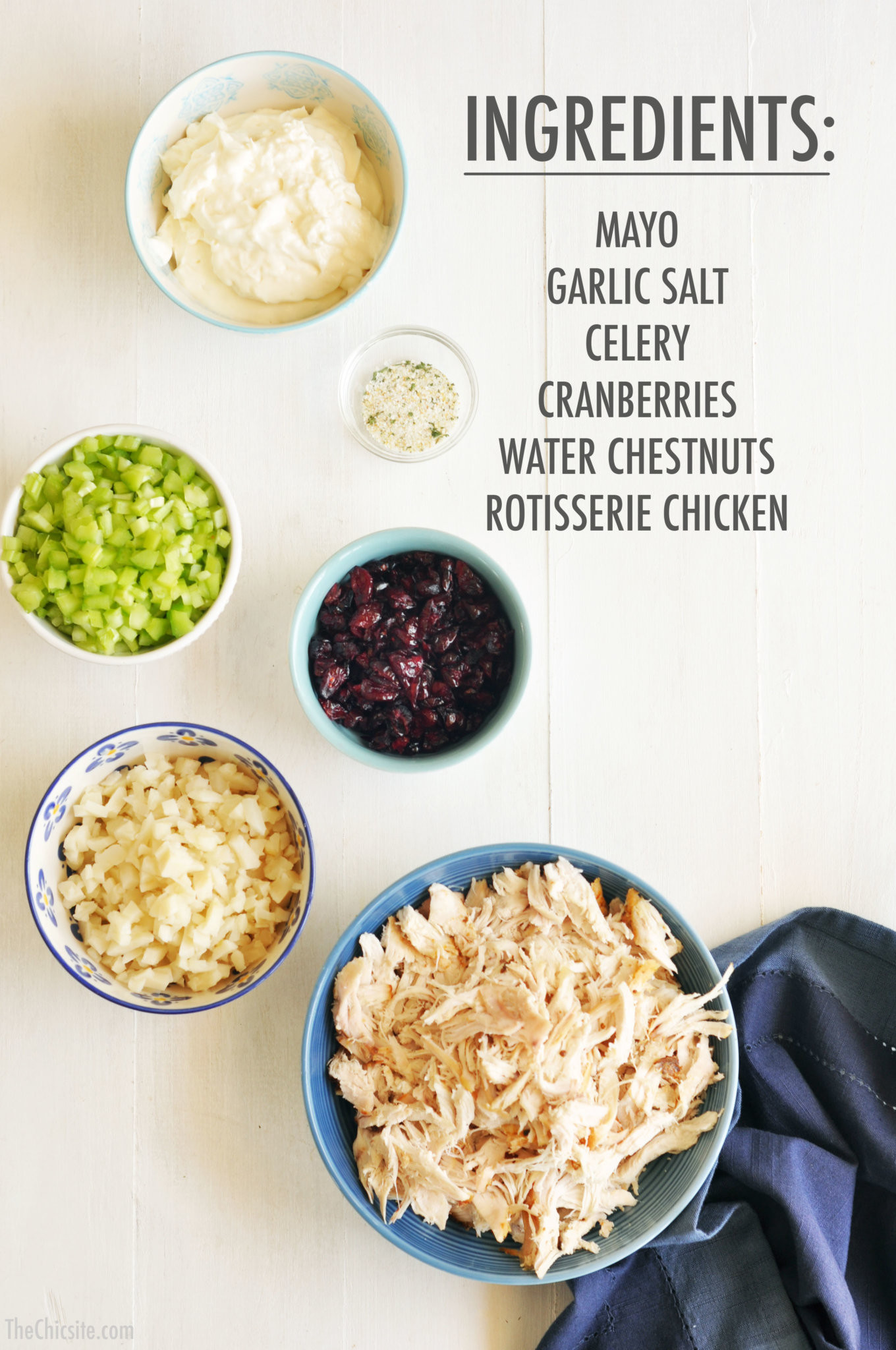 How To Make Chicken Salad With Canned Chicken  Chicken Salad The Chic Site