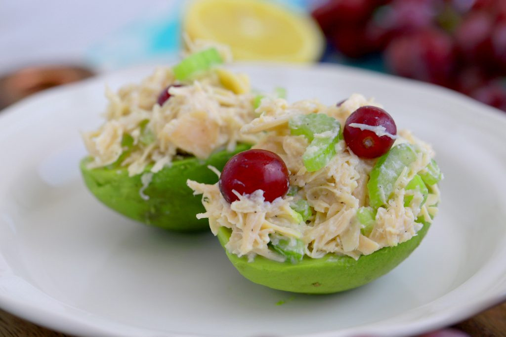 How To Make Chicken Salad With Canned Chicken  Canned Chicken Salad with Grapes and Almonds