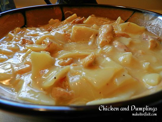 How To Make Dumplings For Chicken And Dumplings  How to Make Chicken and Dumplings