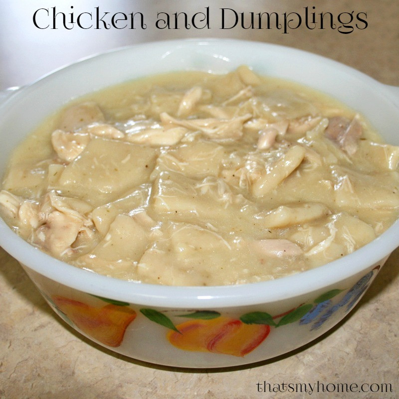 How To Make Dumplings For Chicken And Dumplings  Chicken and Dumplings Recipes Food and Cooking
