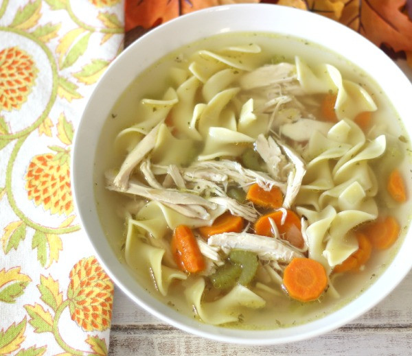 How To Make Homemade Chicken Noodle Soup  Homemade Chicken Noodle Soup