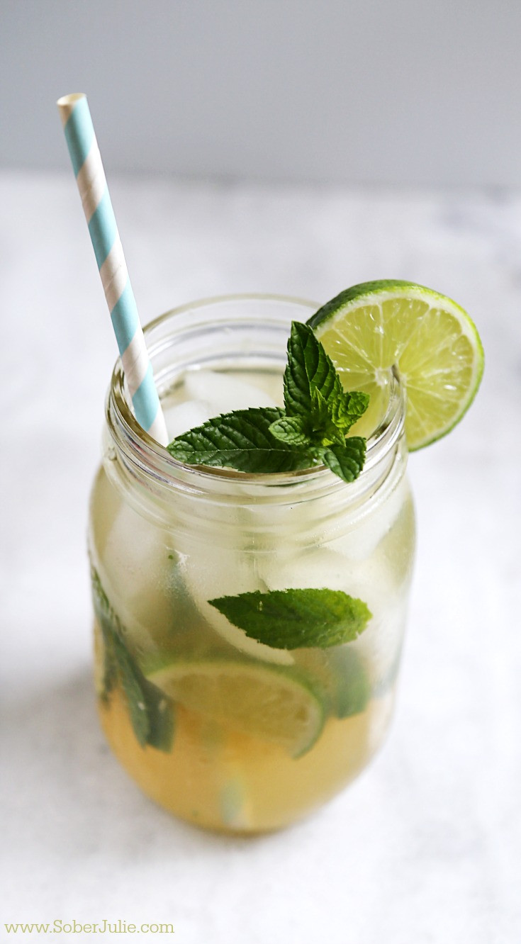 How To Make Mojitos Drinks  Mojito Recipe Non Alcoholic Drink Sober Julie