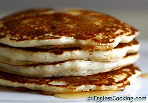 How To Make Pancakes Without Eggs  easy pancake recipe without eggs