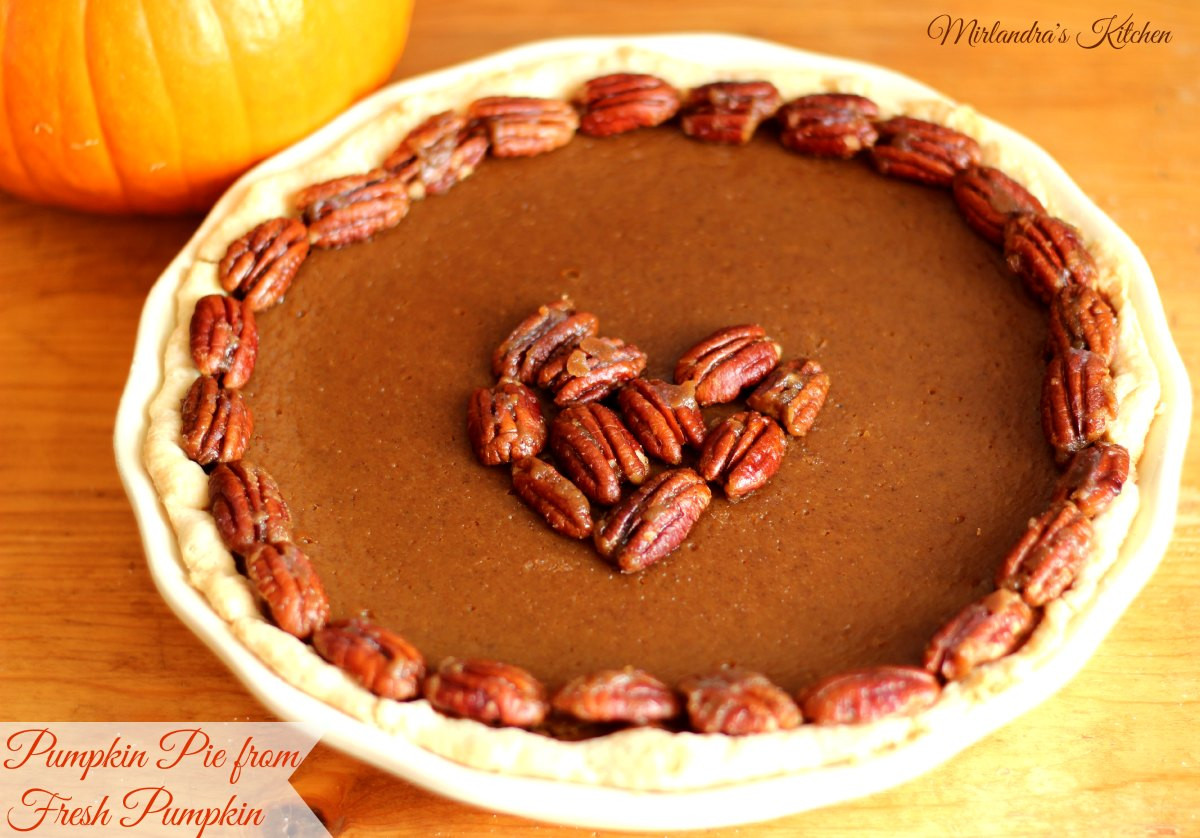 How To Make Pumpkin Pie From A Pumpkin  How to Make Pumpkin Pie from Pumpkins