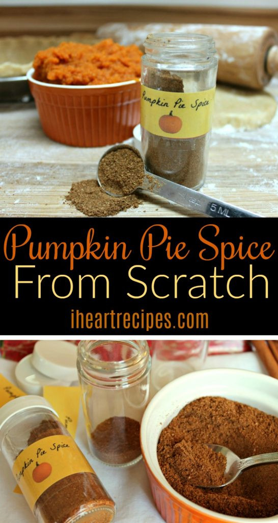 How To Make Pumpkin Pie From Scratch  how to make pumpkin pie spice from scratch