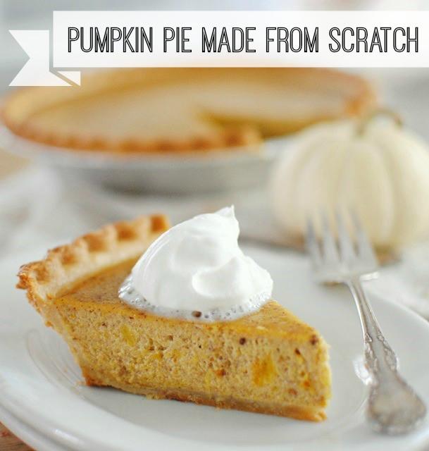 How To Make Pumpkin Pie From Scratch  Pumpkin Pie Made from Scratch Town & Country Living