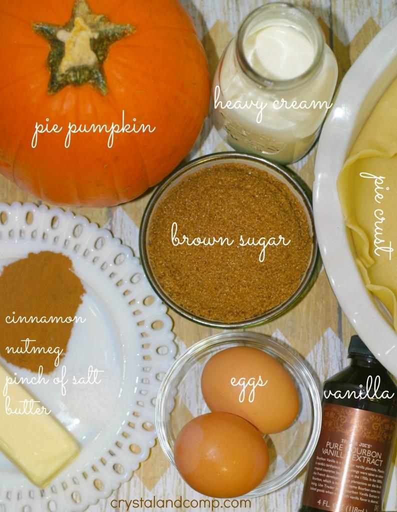 How To Make Pumpkin Pie From Scratch  Simple Pumpkin Pie Recipe