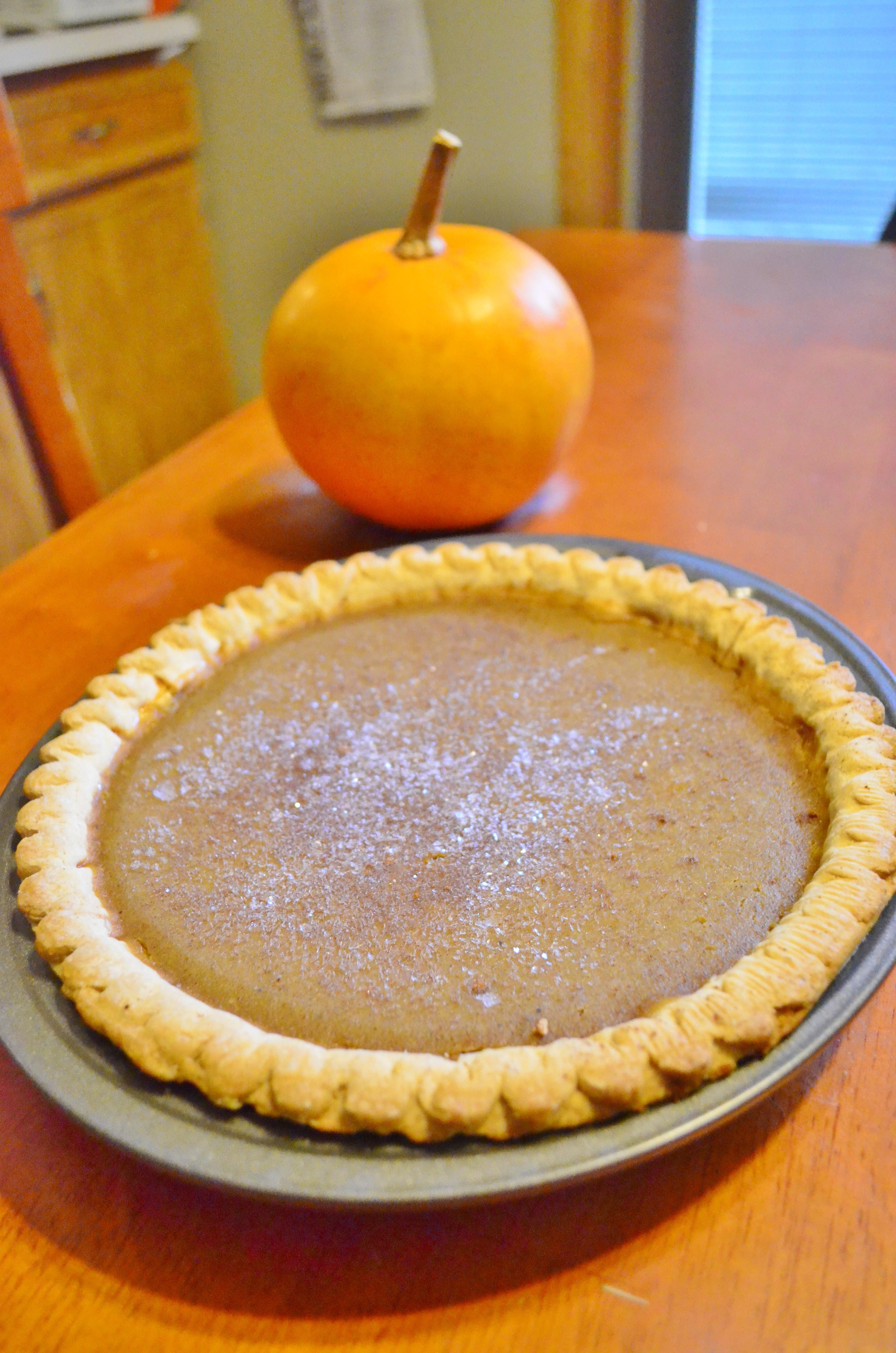 How To Make Pumpkin Pie From Scratch  Homemade Flavorful Pumpkin Pie from Scratch Recipe