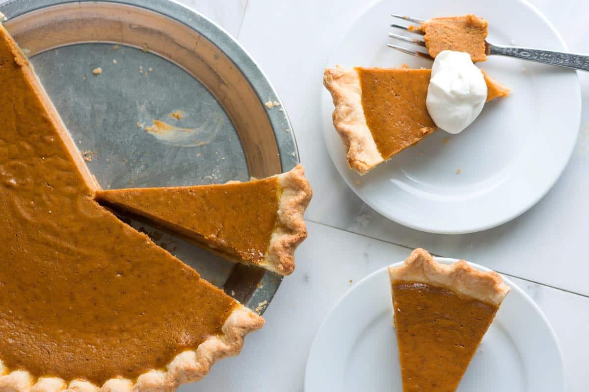 How To Make Pumpkin Pie From Scratch  No Fail Homemade Pumpkin Pie Recipe