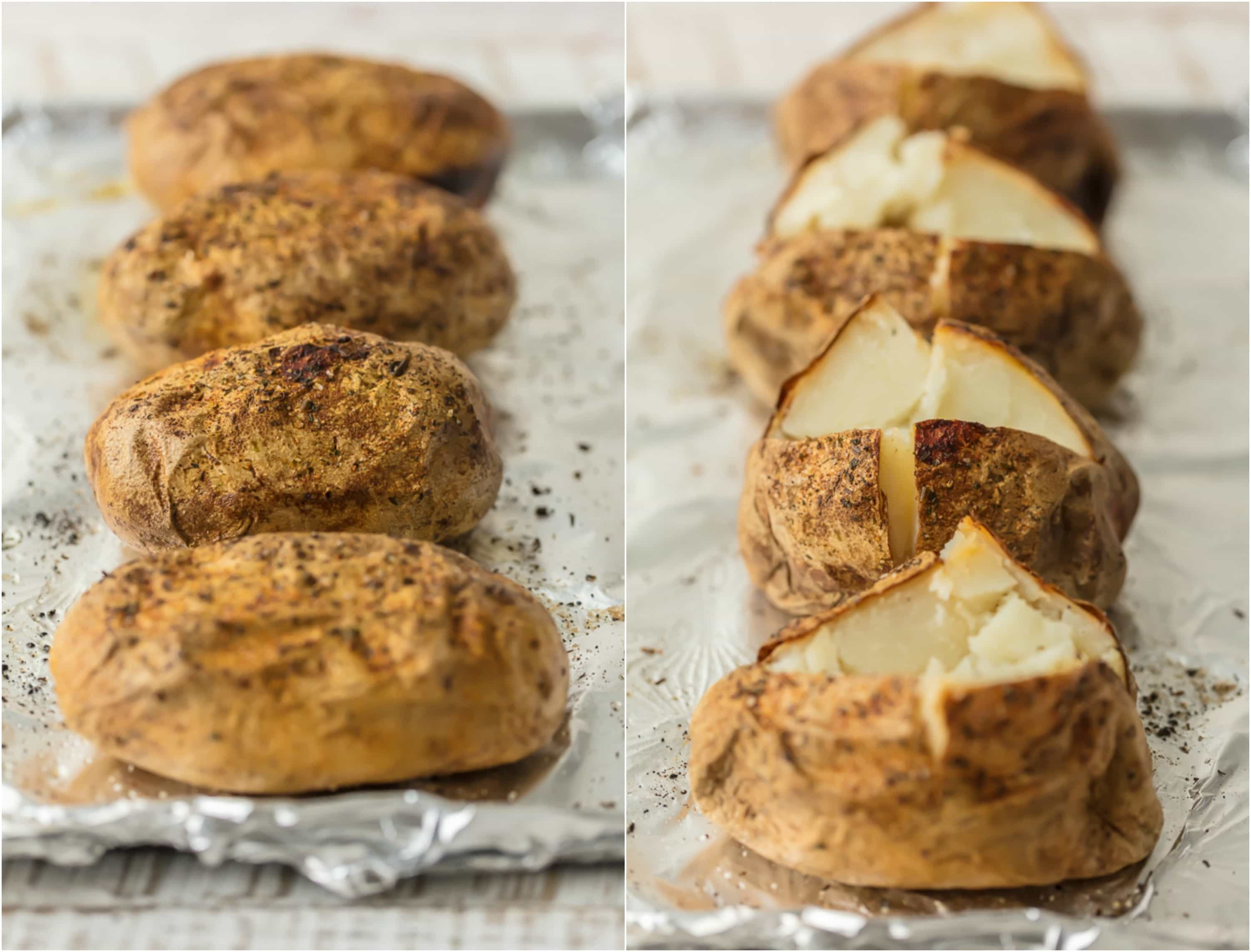How To Make The Perfect Baked Potato  How to Cook a Baked Potato PERFECT Baked Potato Recipe