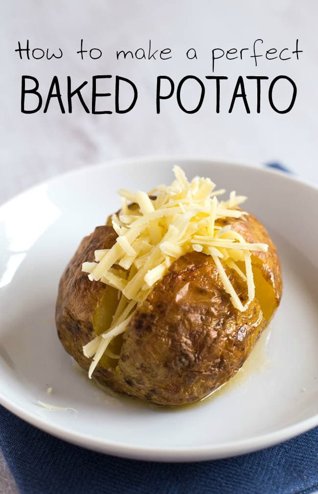 How To Make The Perfect Baked Potato  How to make a perfect baked potato Amuse Your Bouche