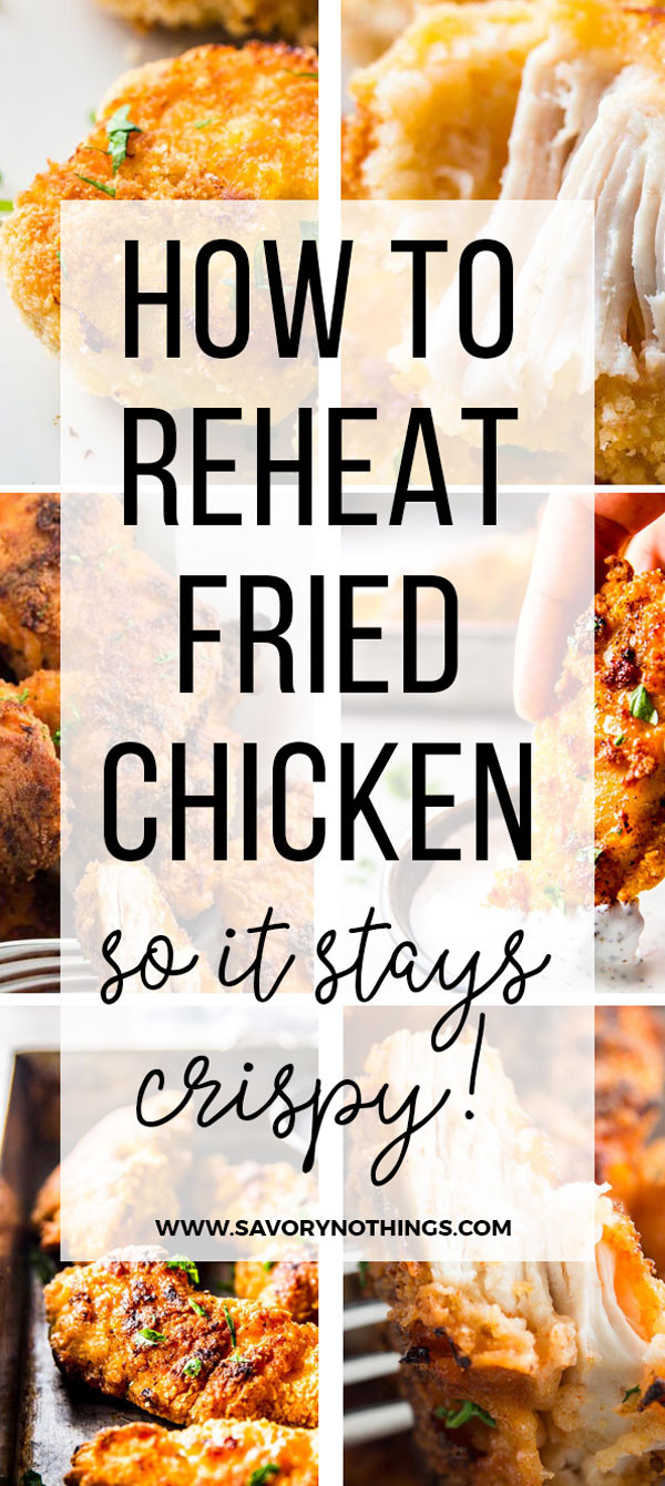 How To Reheat Fried Chicken  How To Reheat Fried Chicken in the Oven Tutorial
