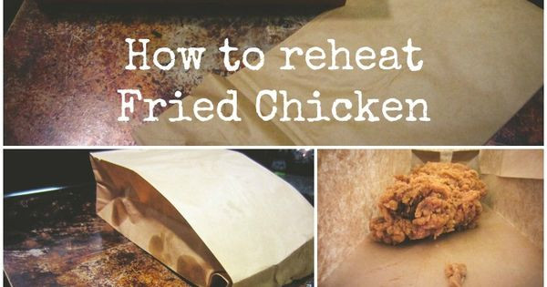 How To Reheat Fried Chicken  How to reheat Fried Chicken Recipe
