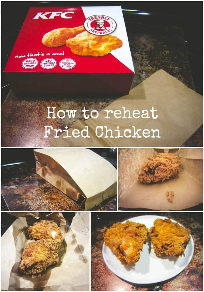 How To Reheat Fried Chicken  how to reheat fried chicken
