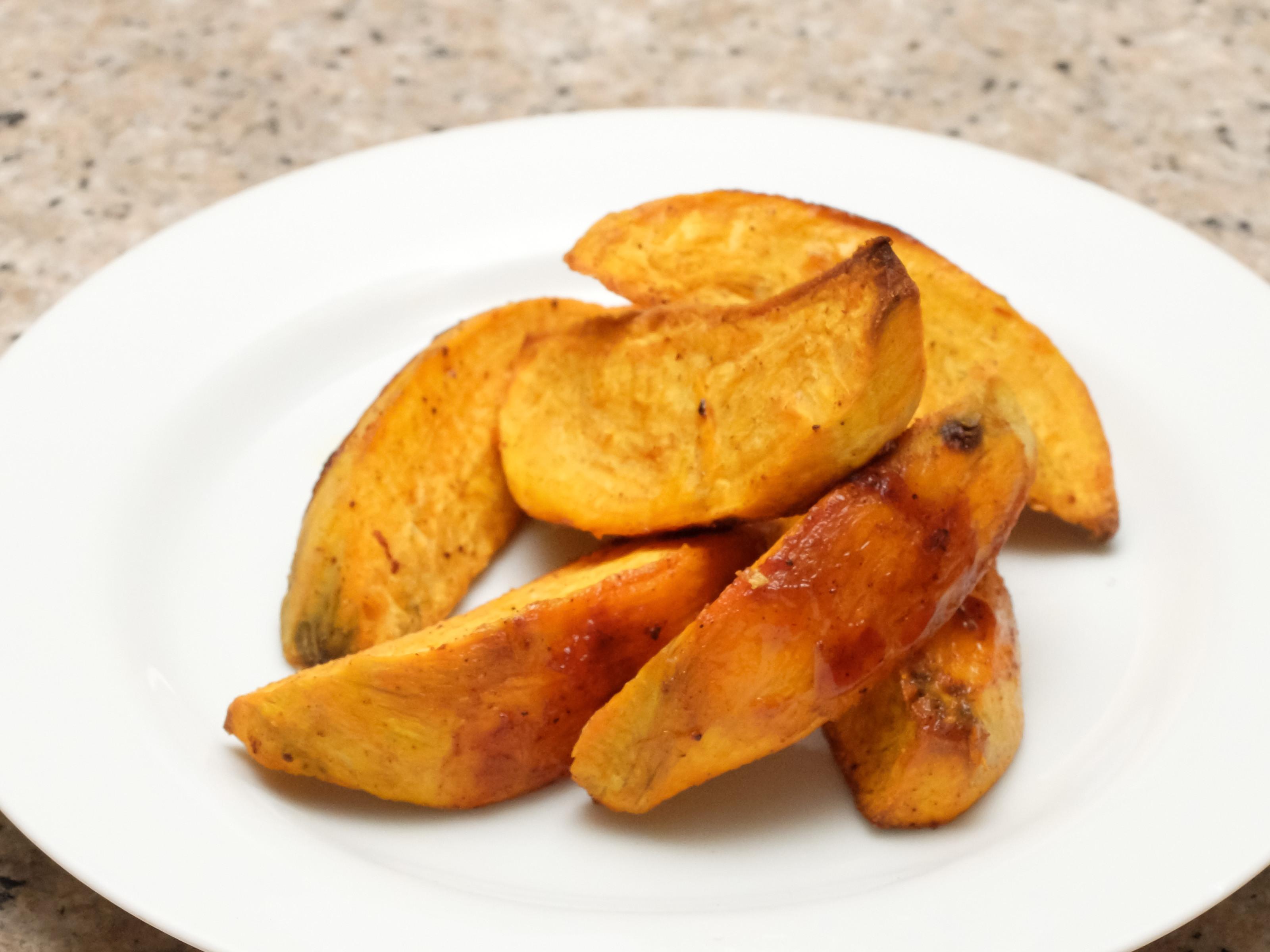 How To Roast A Sweet Potato  3 Ways to Roast Sweet Potato Wedges wikiHow