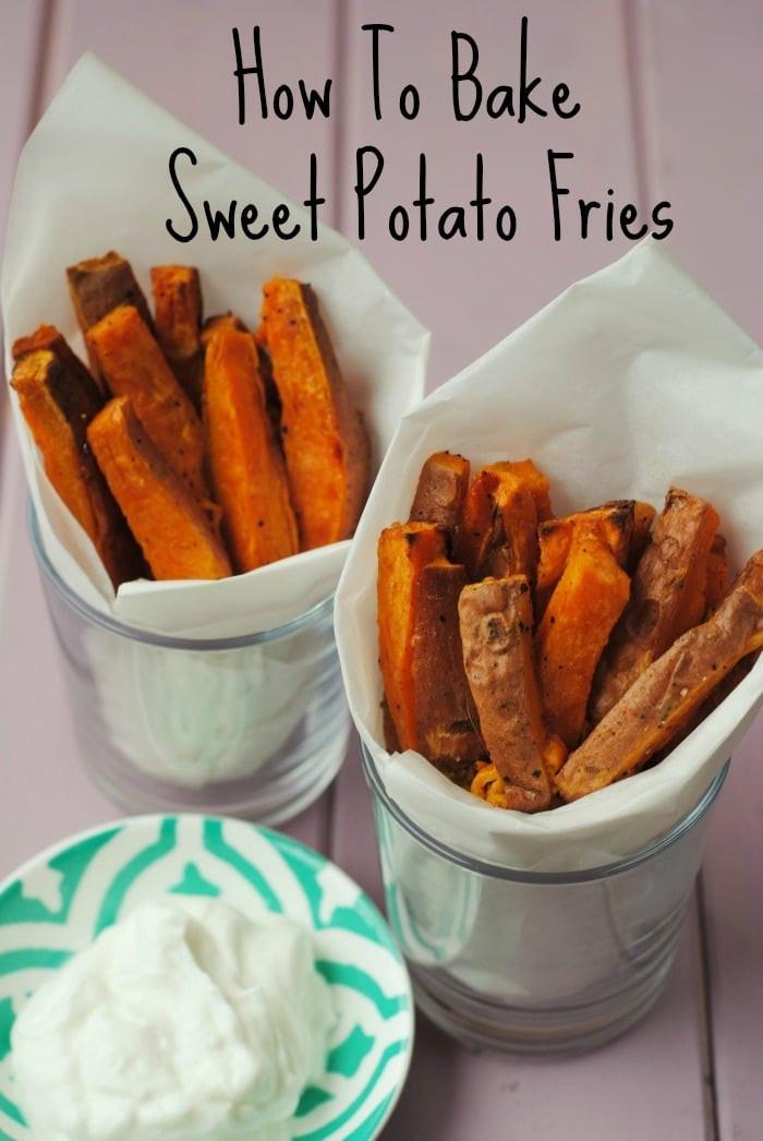 How To Roast A Sweet Potato  How To Bake Sweet Potato Fries Hungry Healthy Happy