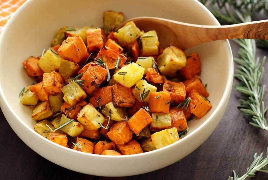 How To Roast A Sweet Potato  Paleo Roasted Rosemary Sweet Potatoes Recipe