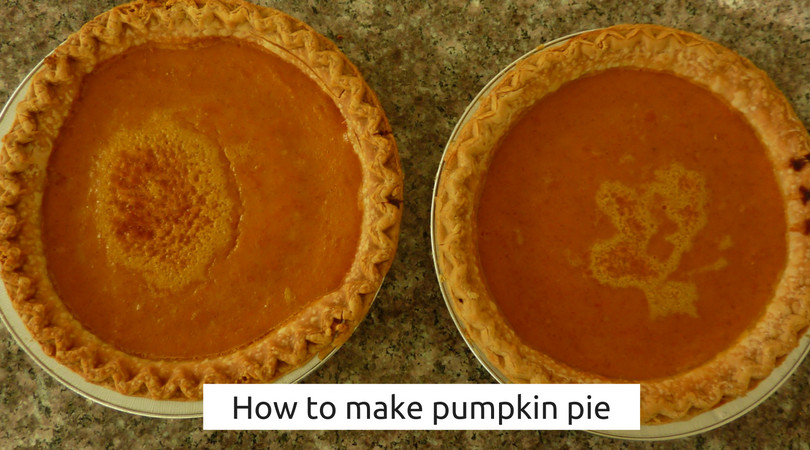 How To Store Pumpkin Pie  How To Make Pumpkin Pie