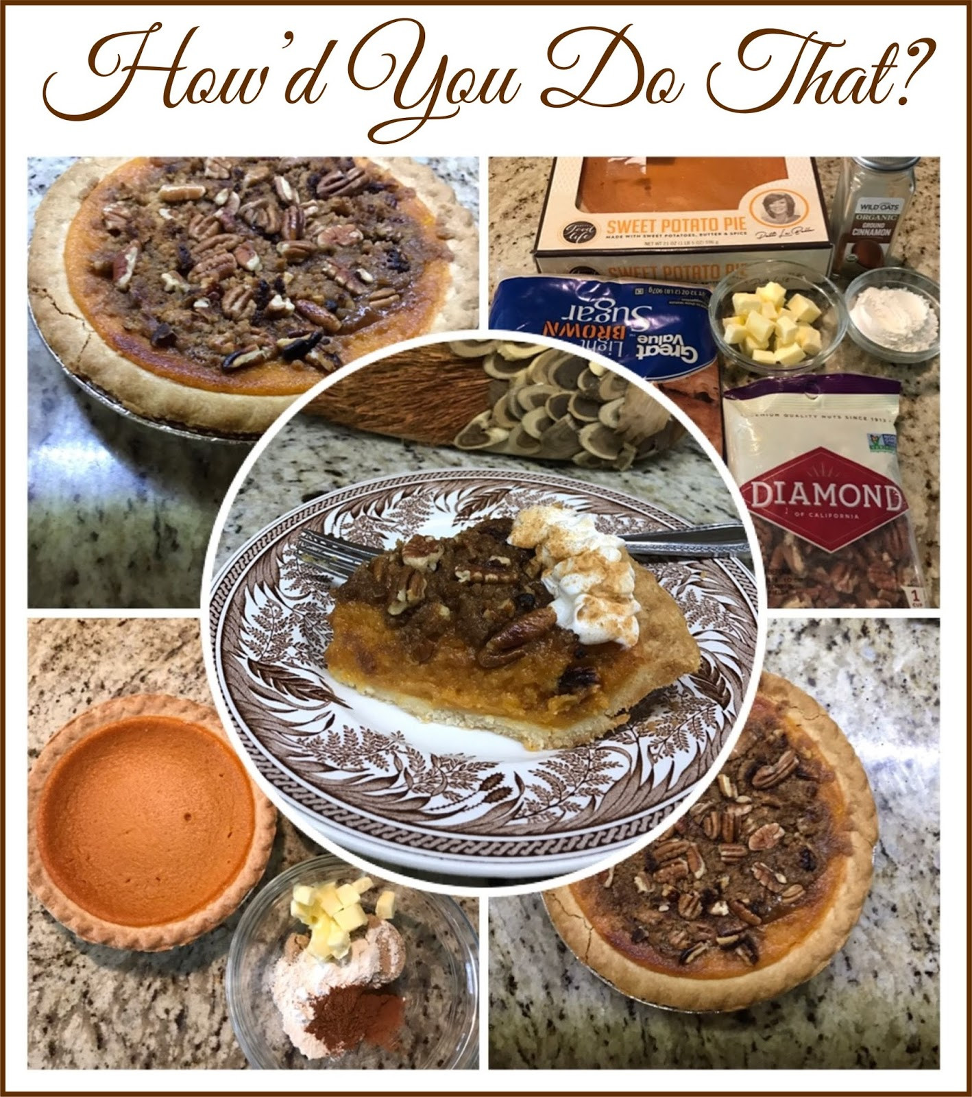 How To Store Pumpkin Pie  How d You Do That PUMPKIN PIE HOW TO ENHANCE A STORE