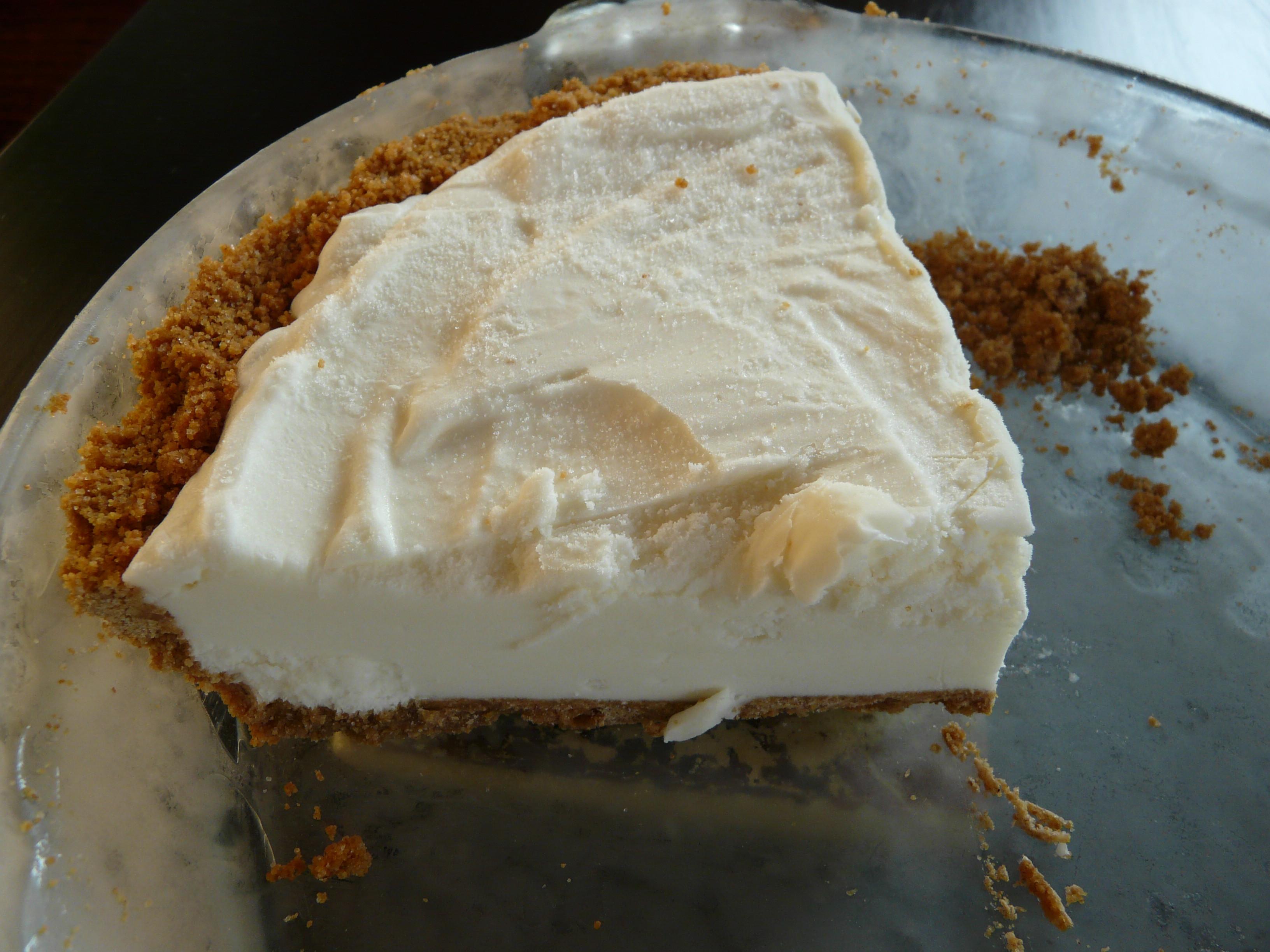 Ice Cream Pie  Cheesecake Ice Cream Pie