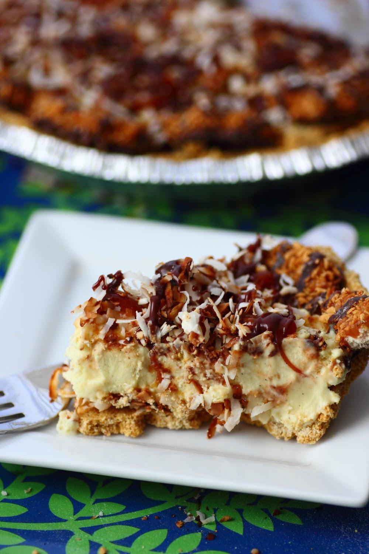 Ice Cream Pie  Samoa Ice Cream Pie Pint Sized Baker
