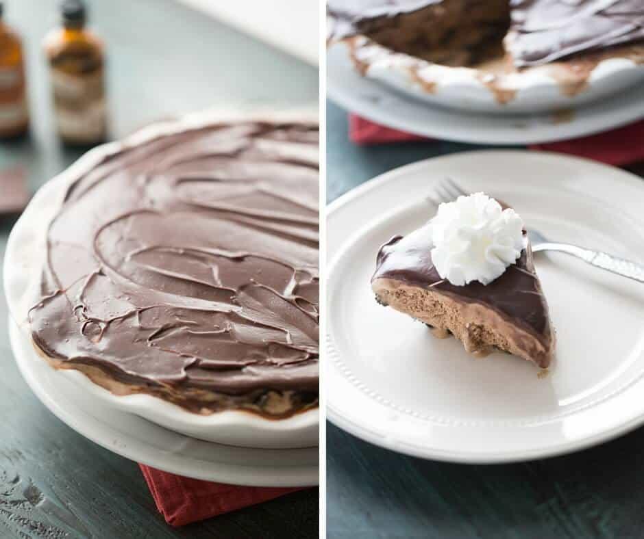 Ice Cream Pie  Mocha Coffee Ice Cream Pie LemonsforLulu