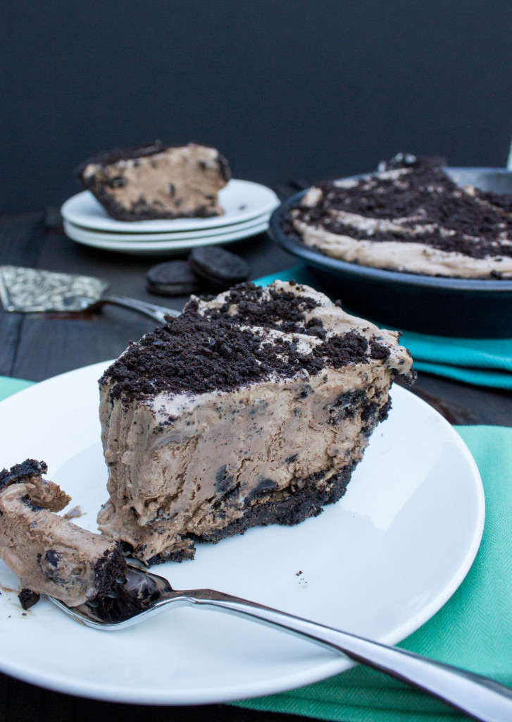 Ice Cream Pie  Mocha Cookies & Cream Ice Cream Pie Sugar Spun Run