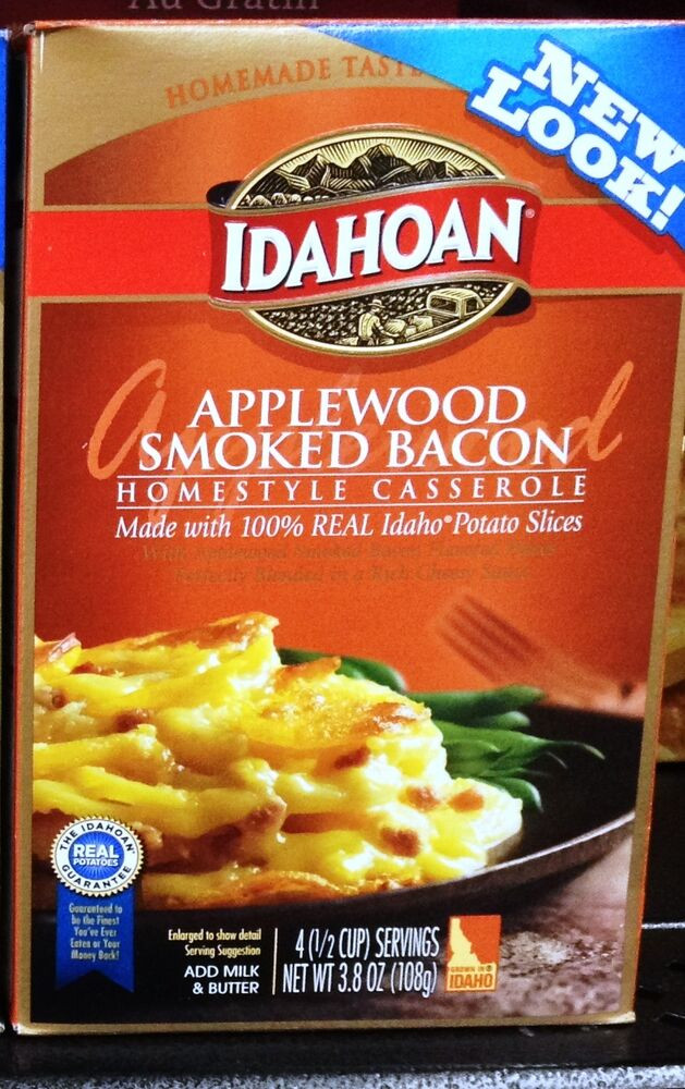 Idahoan Instant Mashed Potatoes  Idahoan Homestyle Casserole Potatoes Slices Assort