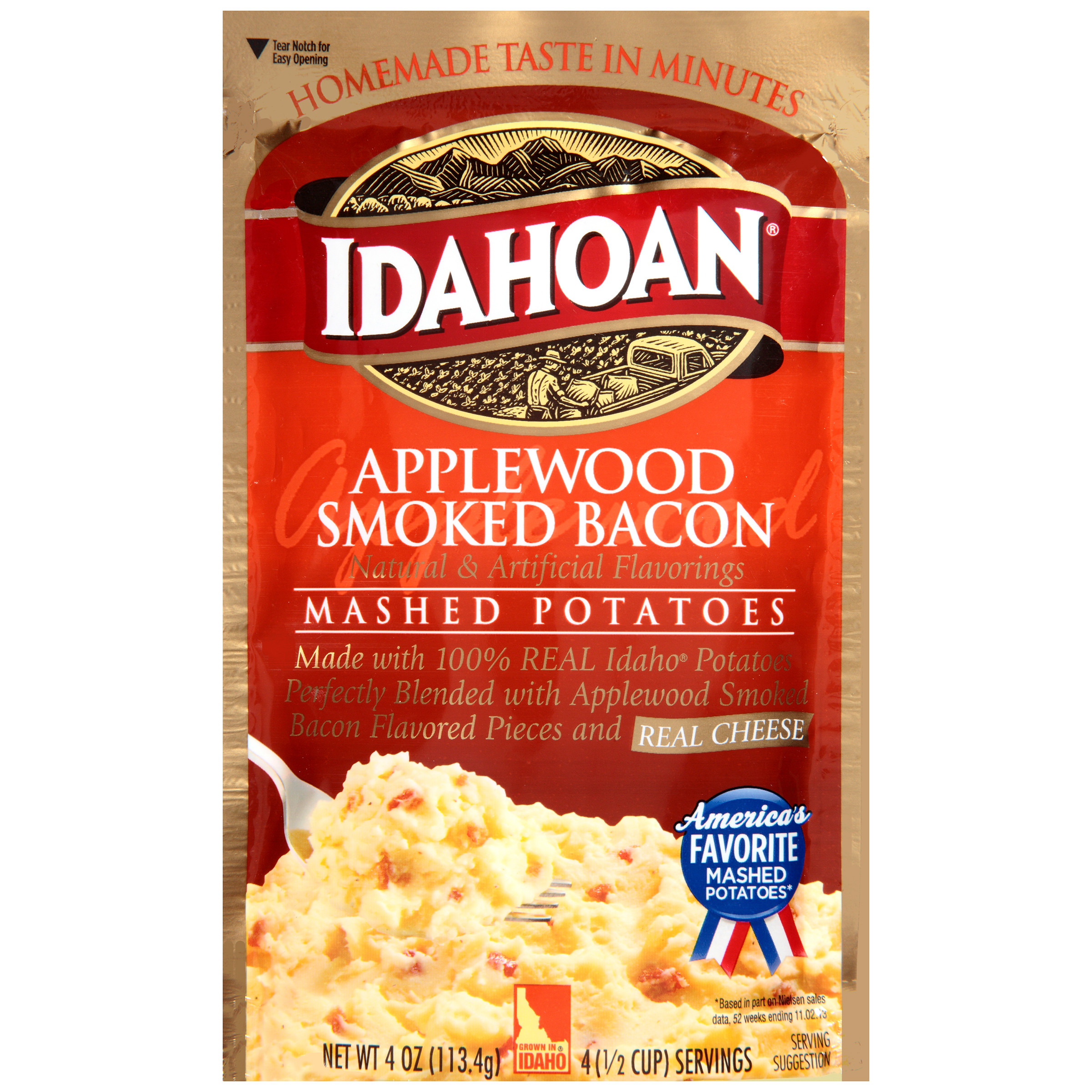 Idahoan Instant Mashed Potatoes  Idahoan Fully Loaded Butterly Delicious Mashed Potatoes 4