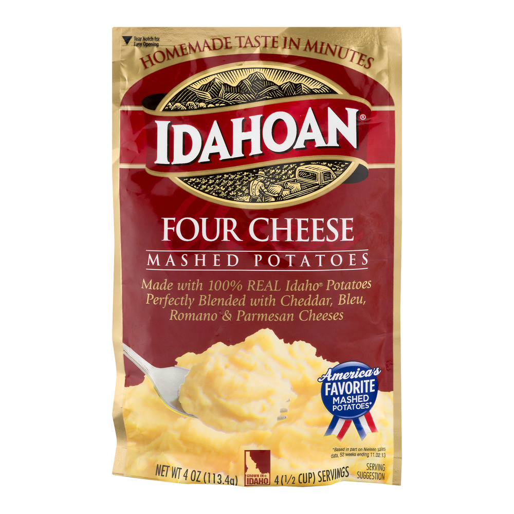 Idahoan Instant Mashed Potatoes  idahoan loaded potato soup review