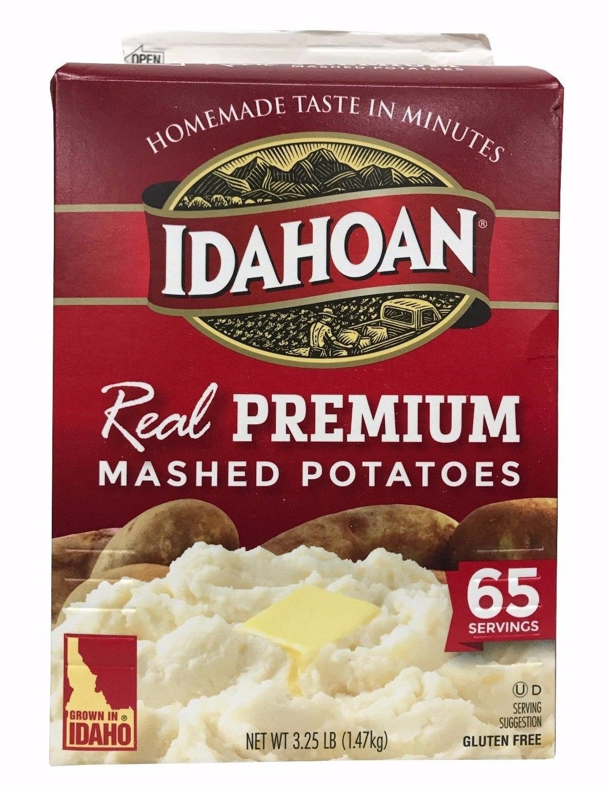 Idahoan Instant Mashed Potatoes  Idahoan Real Premium Mashed Potatoes Recipes – Besto Blog