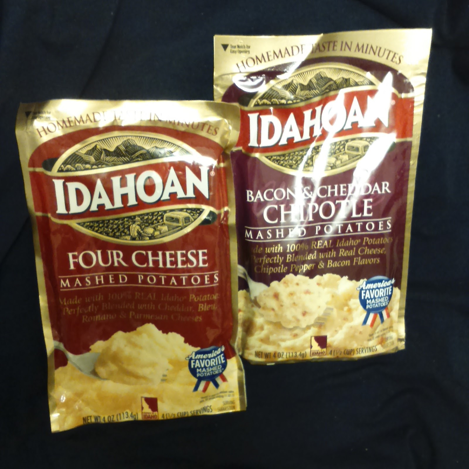 Idahoan Instant Mashed Potatoes  Supersupergirl s Food Reviews IDAHOAN mashed potatoes