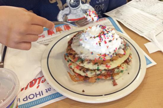 Ihop Cupcake Pancakes  IHOP Culpeper Picture of IHOP Culpeper TripAdvisor