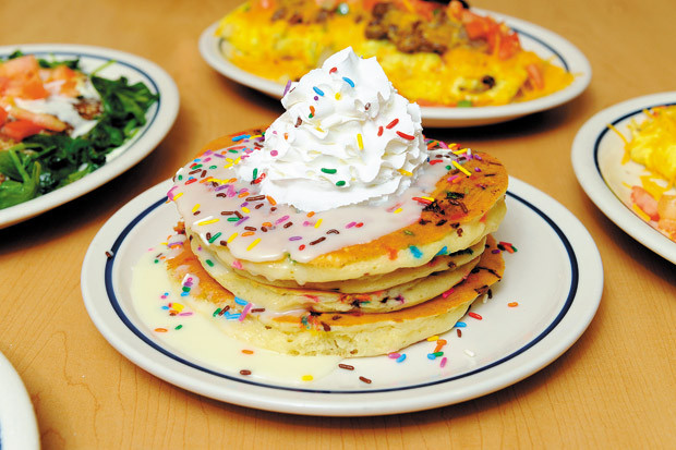 Ihop Cupcake Pancakes  The House Where Locals Love To Eat IHOP