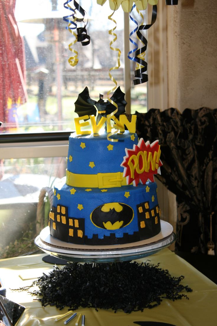 Image Birthday Cake  1000 images about Batman Birthday Cake on Pinterest