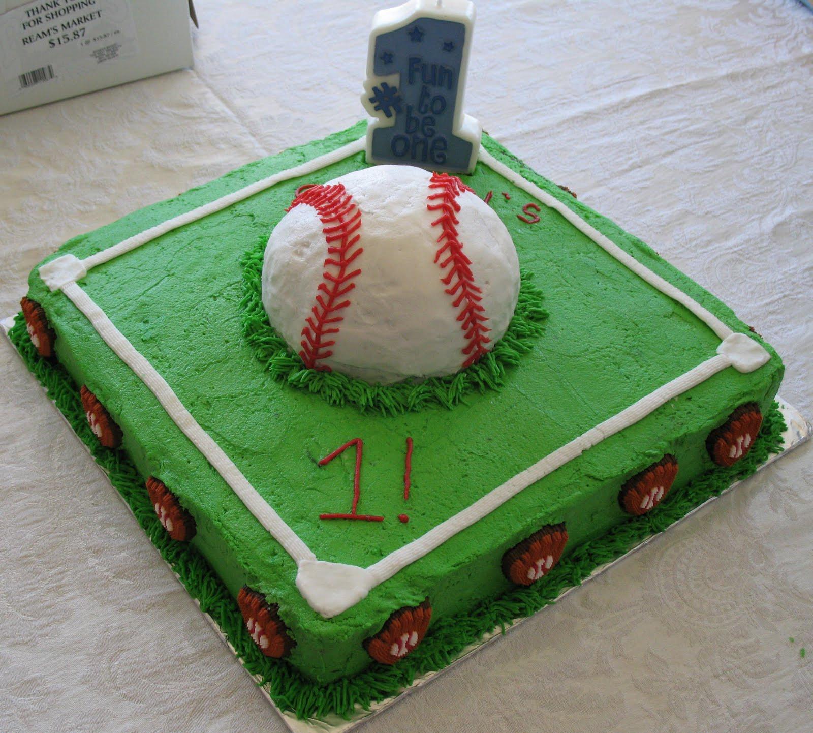 Image Birthday Cake  Baseball Cakes – Decoration Ideas