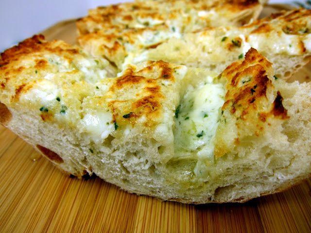 Ina Garten Garlic Bread  Gorgonzola Garlic Bread Recipe french bread topped with