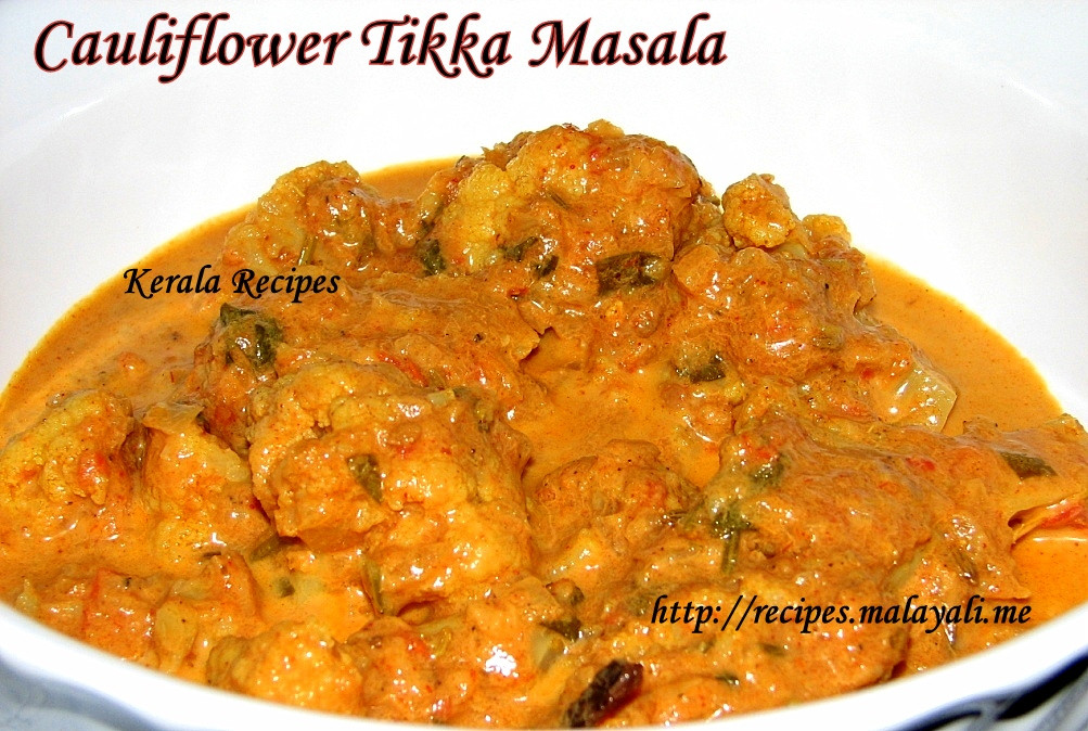 Indian Cauliflower Recipe  Cauliflower Kerala Recipes